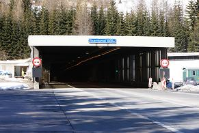 Tauern Road Tunnel entrance